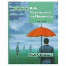 Introduction to Risk Management and Insurance (6th Edition)