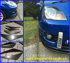 Ford fiesta mk6 st/mk6 Zetec s/mk6 Fiesta st150/patrañas/Difusor Aletas/patrañas