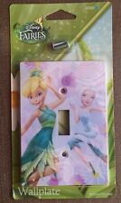 Disney Fairies Tinker Bell Light Switch Plate New Tink