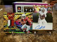 🔥CHRISTIAN KIRK ROOKIE PATCH ON CARD AUTO LOT SELECT /10 & LEAF /25 CARDINALS🔥