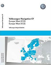 Dernières V15 RNS510 RNS810 2017 2018 navigation map update disc UK West Europe