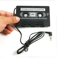 Car Audio Tape Cassette Adapter Deck 3.5mm for IPhone MP3 CD MD Player Jack AUX