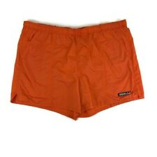 Vintage 2000 SPEEDO Board Shorts Swim Trunks Orange Men's Size 2XL