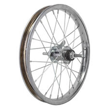 "Wheel Master 16"" Bicycle Rear Wheel Coaster Brake KT 3/8"" Axle Silver"