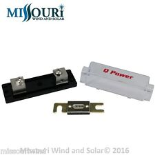60 amp fuse and holder 4 inverter wind turbine wind generator solar panel