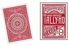 Circle Back Tally-Ho Playing Cards - Circle Back - RED Playing Cards