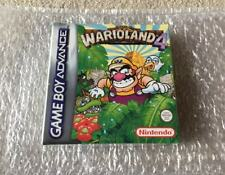 Warioland Wario land 4 Gameboy Advance SEALED NEW