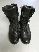 "Danner ""Striker II"", black leather and mesh, 8 in tall boots. Men's 8"
