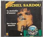 Michel Sardou La Maladie D'amour CD ALBUM pressage de 1987 NEUF trema