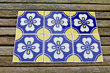 VINTAGE - MEXICAN TILE - HAND CRAFTED BY IDEAL STANDARD  4.25 x 4.25