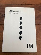 More details for 1980 commonwealth five reigns postage stamp catalogue . white calf