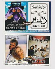 "Toto Average White Band Secret garden Hiroshima Promo Glossy 4"" x 6"" Card"