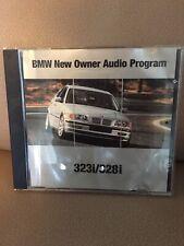 ORIGINAL BMW 3 Series E46 323i/328i Owner's Manual Audio Program CD Brand New