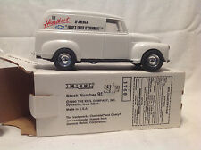 "CHEVROLET ""TODAY'S TRUCK"" BOW TIE 1950 CHEVY PANEL BANK ERTL #9873 1:25 NIB"