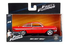 JADA 98304 FAST AND FURIOUS 8 DOM'S CHEVY IMPALA 1/32 DIECAST MODEL CAR RED