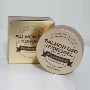 Botanic Farm Salmon Egg Hydrogel Eye Patch 60sheet Moisturizing Lifting K-Beauty