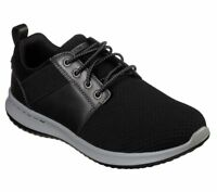 Men's Air Skechers shoes Black Memory Foam 65642 Comfort Casual Sporty Flex Mesh