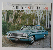 BUICK SPECIAL 1961 dealer brochure - French - Canada - ST501000818