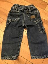 18 Month Wrangler Denim Blue Jeans Five Star Great Preowned Condition
