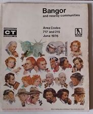 1976 Bangor Pennsylvania & Nearby Phone Book Commonwealth Telephone Directory
