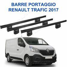 3 Barre Portatutto 180 cm e attacchi su misur per Renault Trafic 06/14> L1 L2 H1