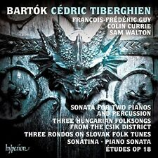 Bartok: Sonata For Two Pianos And Percussion And Other Piano Music [New Cd]