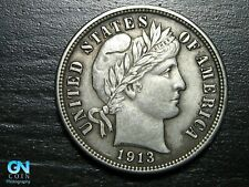 1913 P Barber Dime  --  MAKE US AN OFFER!  #B8830