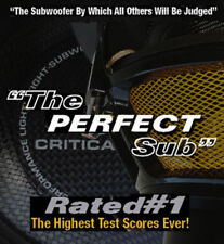 New listing Critical Mass Ul12 Audio Subwoofer Speaker Sub Best Jl Carbon Fiber Usa Spl $14K