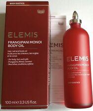 ELEMIS FRANGIPANI MONOI BODY OIL - 100ML (BOXED) SMALL BOX DAMAGE