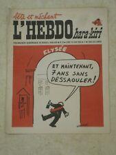 L'HEBDO HARA-KIRI n°20- 16/06/1969