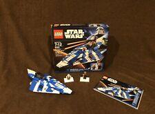 LEGO Star Wars 8093 Plo Koon's Jedi Starfighter, Complete Set (Rare)