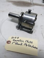 "Geometric 1 1/4 Ds Threading Die Head with 1"" Shank"