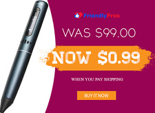 1 GB Smartpen By Livescribe Records Audio, Pen Movements, & Take Virtual Notes