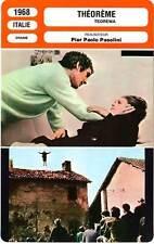 FICHE CINEMA : THEOREME - Mangano,Stamp,Girotti,Pasolini 1968 Teorema
