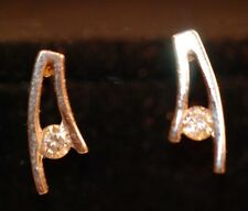 18k White Gold and Diamond Earrings
