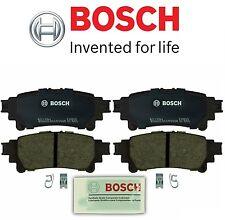 For 2007-2009 Lexus RX350 Brake Pad Set Rear Bosch 63438MC 2008 FWD