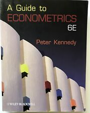 A Guide to Econometrics. 6th edition by Kennedy, Peter