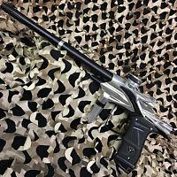 NEW Dangerous Power Fusion Elite Electronic Paintball Gun Marker - Silver/Black