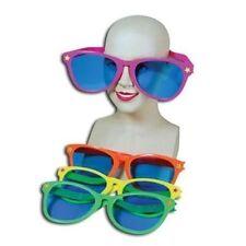Giant Assorted Colour Plastic Sunglasses Fancy Dress