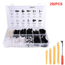 292Pcs Fender Car Door Push Pin Bumper Trim Clips Retainer Assortment For Toyota