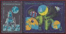 VIETNAM N°728/730** Espace, Luna 16, 1971 Vietnam 639-640 Space MNH