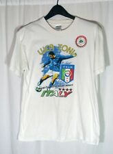 World Cup Luca Toni Italy 2010 South Africa Cafe Gentile T Shirt Size M FIGC