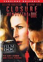 Closure Vendetta a Due DVD Rent Nuovo Sigillato Gillian Anderson Danny Dyer