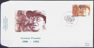 Constant Permeke, Painter, Sculptors, Belgium 1986 FDC