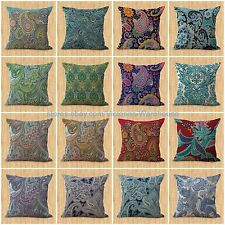 lot of 15 wholesale retro bohemian floral cushion covers cute decorative pillows
