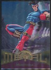 1995 Marvel Metal Trading Card #49 Meanstreak