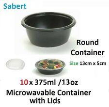 10 x Meal Prep Contenants De Nourriture 750ml/13oz Micro-Ondable réutilisables P...