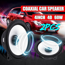 2Pcs 4 Inch 60W 2 Way Auto Car Coaxial Vehicle Door Audio Stereo Speaker