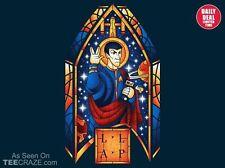 STAR TREK Logical Saint MR. SPOCK Vulcan Leonard Nimoy Art NEW TEEFURY T-SHIRT