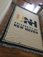 Pure Country Weavers Official University of New Haven Alumn Afghan Throw Blanket